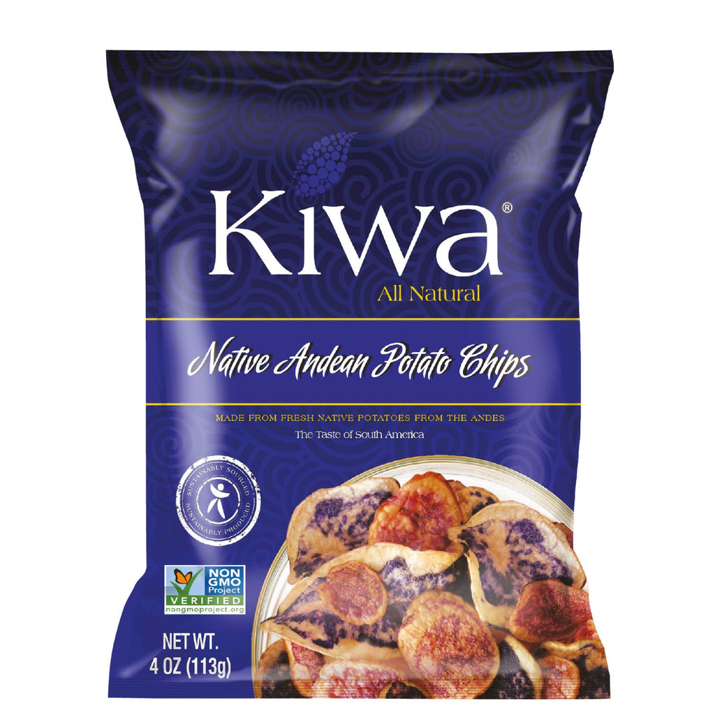 KIWA - Native Andean Potato Chips - 4oz