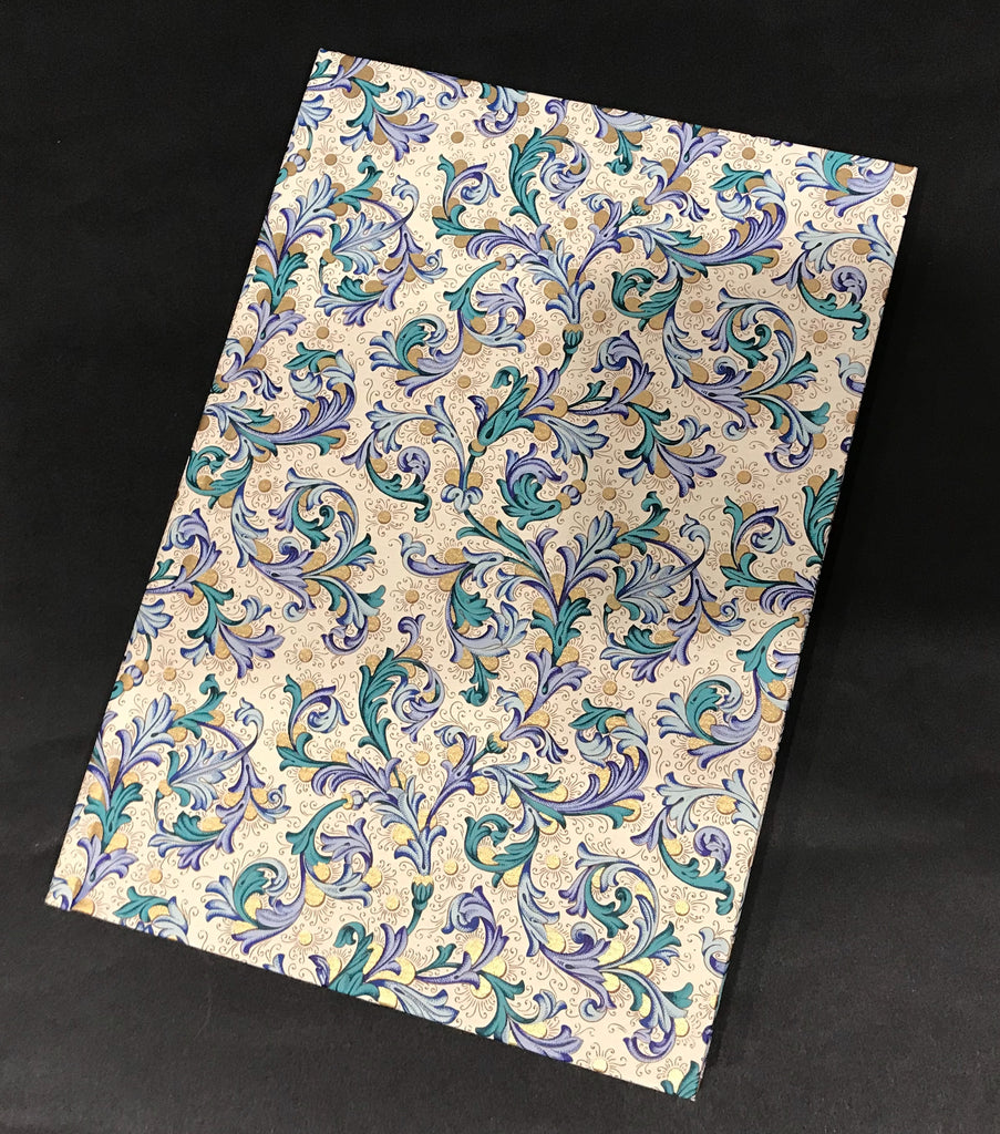 Rossi Notebook - Blue Florentine