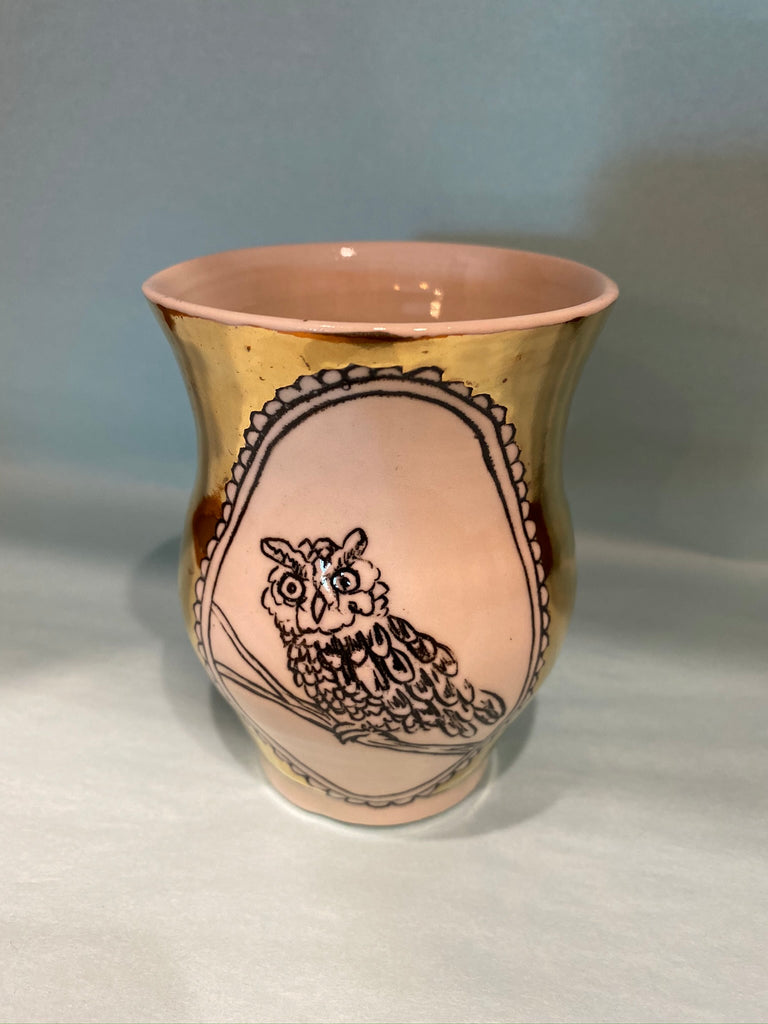 HOPE + MARY Woodland Animal Medium Vase
