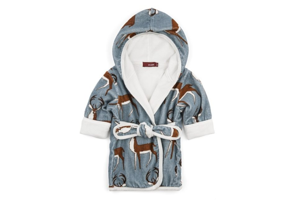 Milkbarn Hooded Bathrobe