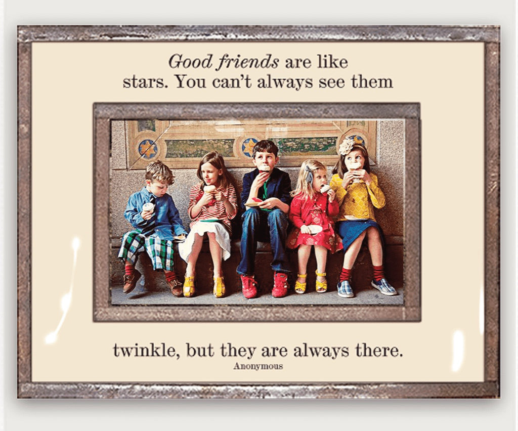 Ben's Garden, Frame, Good friends are like stars