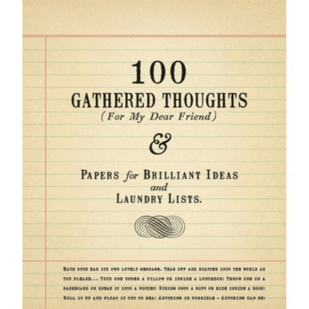 Sugarboo Designs - 100 Gathered Thoughts (For My Dear Friend)