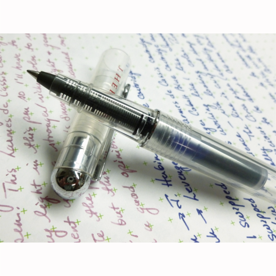 J.Herbin - Transparent Refillable Rollerball Pen