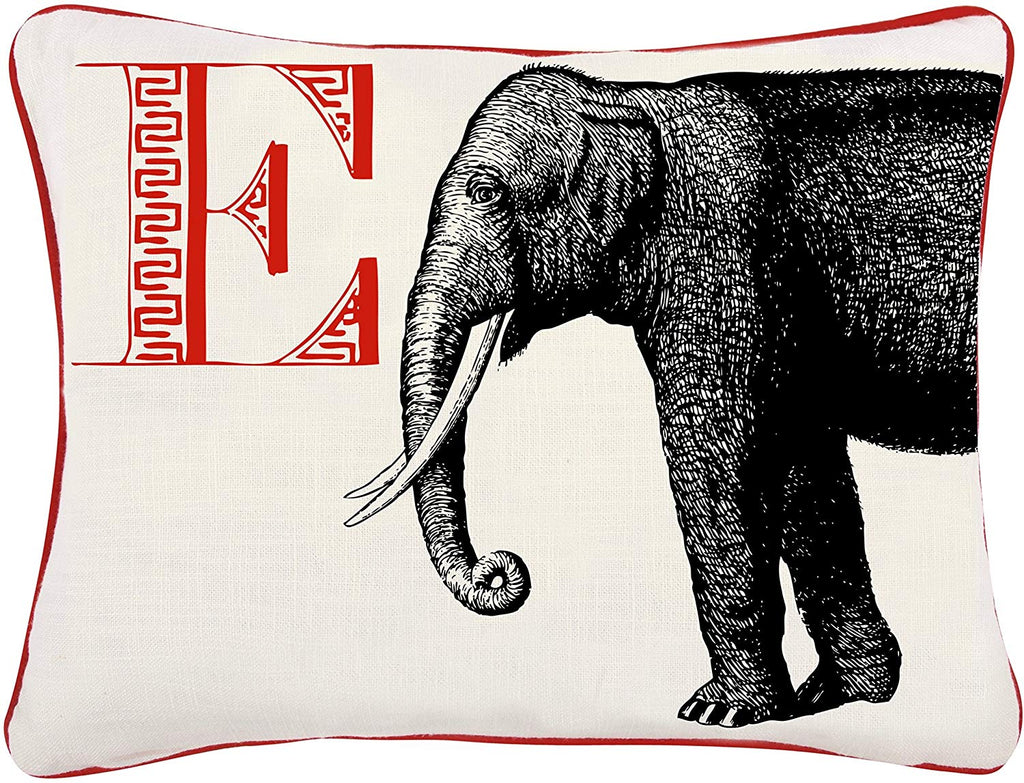 Thomas Paul - E Elephant Pillow