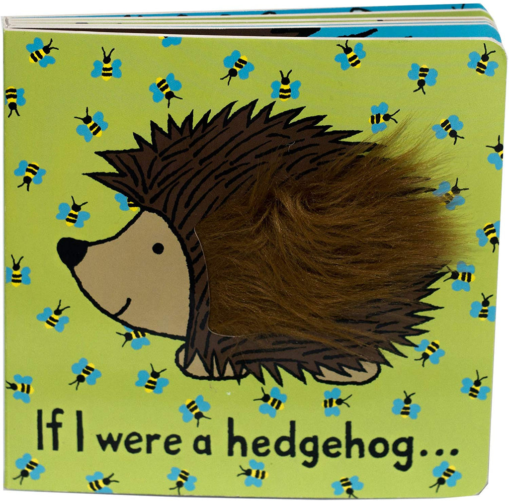 JellyCat Book If I Were a Hedgehog