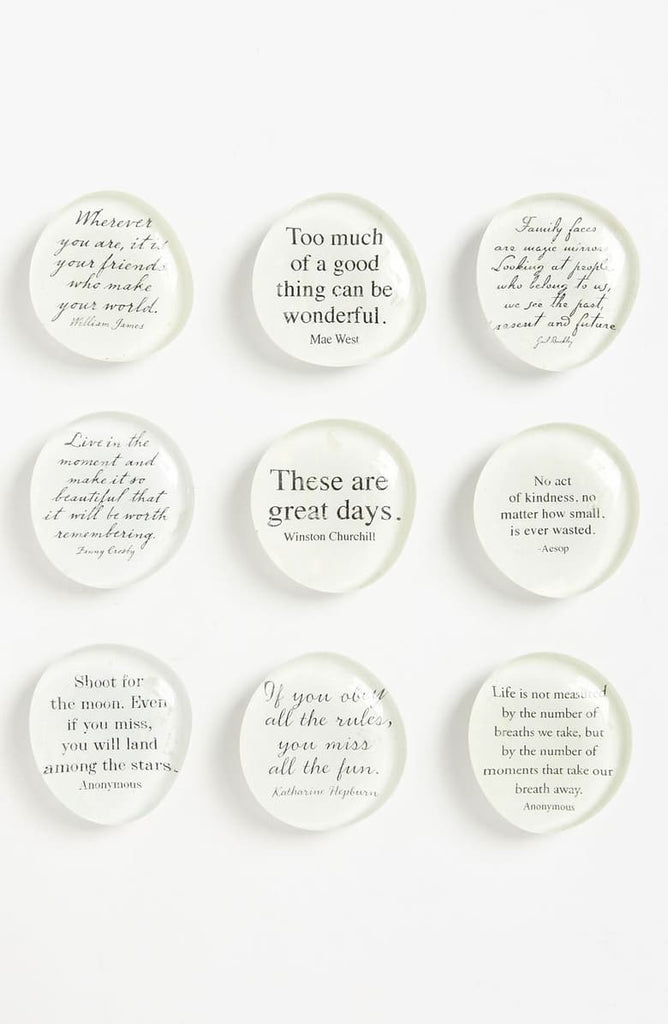 Ben's Garden, Script Quote Superstrong Magnets