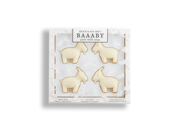 Beekman 1802 - BAAABY GOAT MILK SOAP - 4 BARS