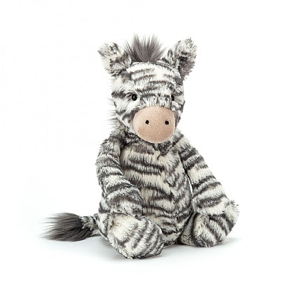 JellyCat Bashful Zebra, medium