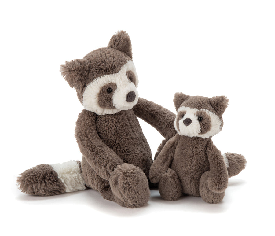 JellyCat Bashful Raccoon, small