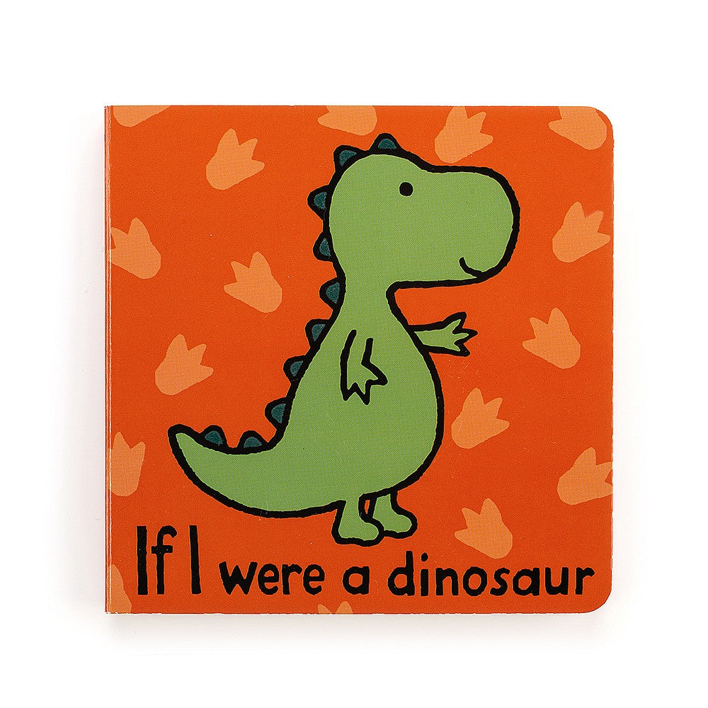 JellyCat - If I Were A Dinosaur Book