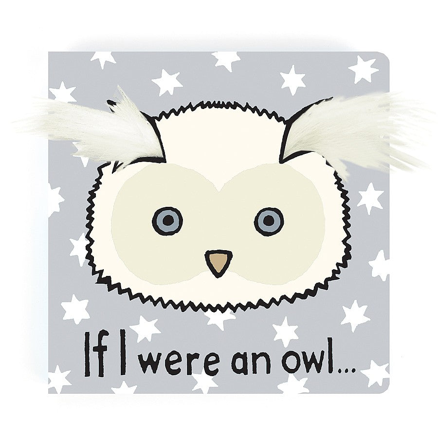 JellyCat - If I Were An Owl Book