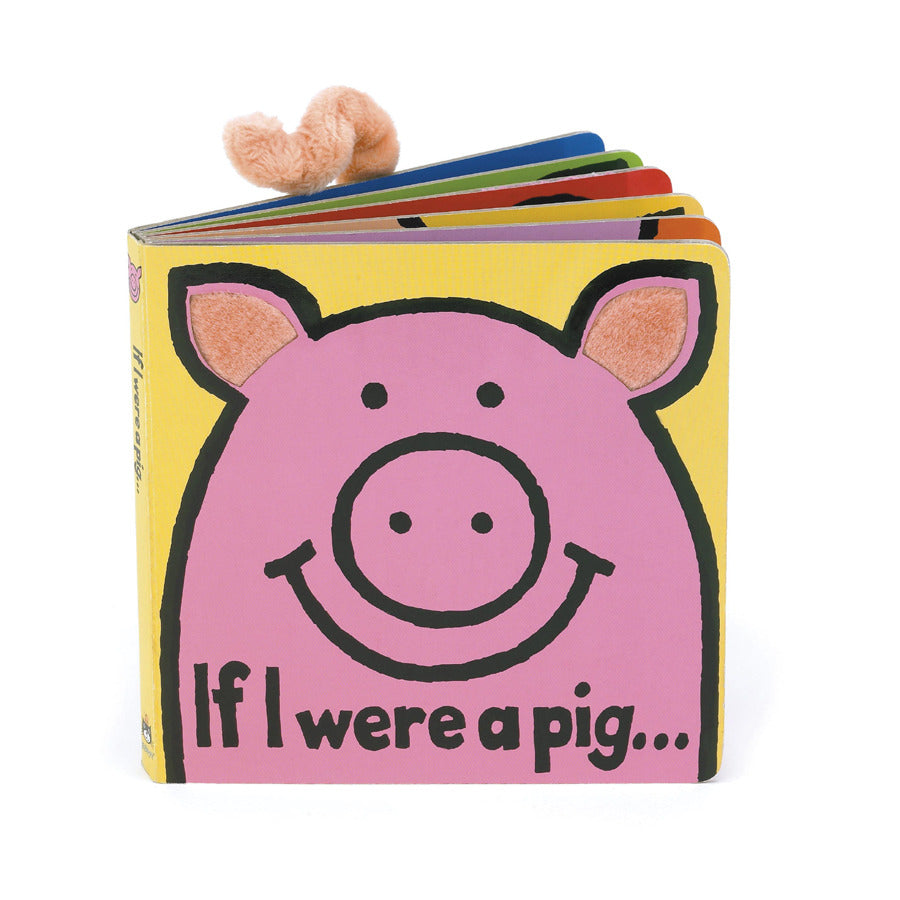 JellyCat - If I Were A Pig Book