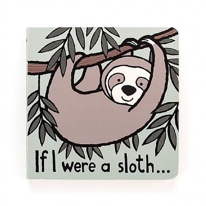 JellyCat - If I Were A Sloth Book