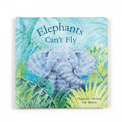 JellyCat Books Elephants Can't Fly
