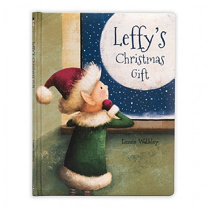 JellyCat Books Leffy's Christmas Gift