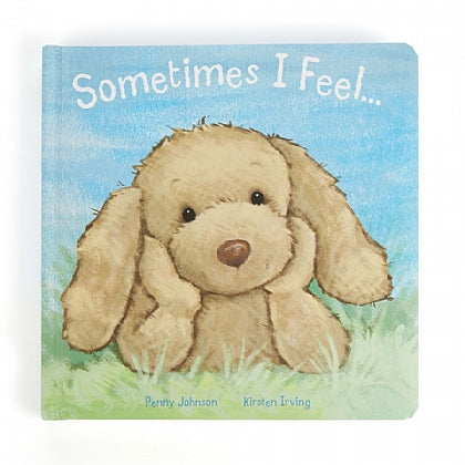 JellyCat - Sometimes I Feel... Book