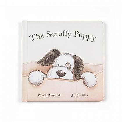 JellyCat - The Scruffy Puppy Book