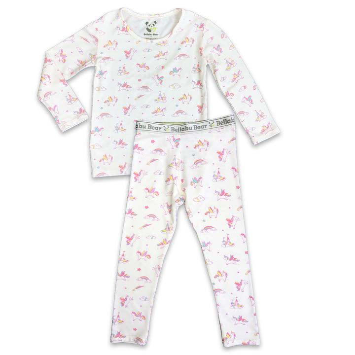 Bellabu Bear  - Unicorn Long Sleeve Two Piece Set