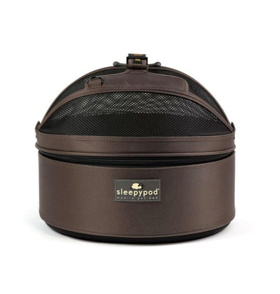 Sleepy Pod Dog/Pet Carrier - Dark Chocolate