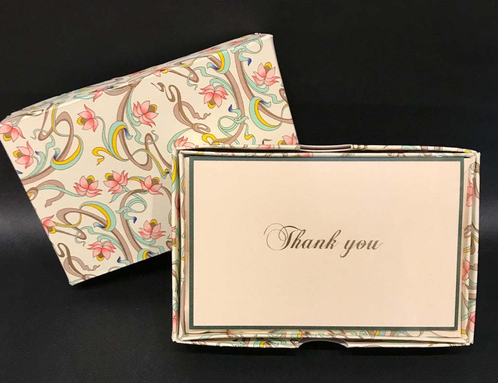Rossi Thank You Cards - Art Nouveau