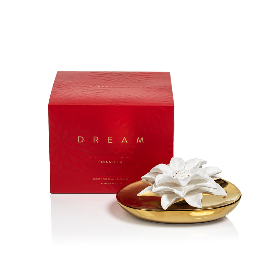 Zodax - Diffuser - Dream Holiday Apothecary Guild - Poinsettia
