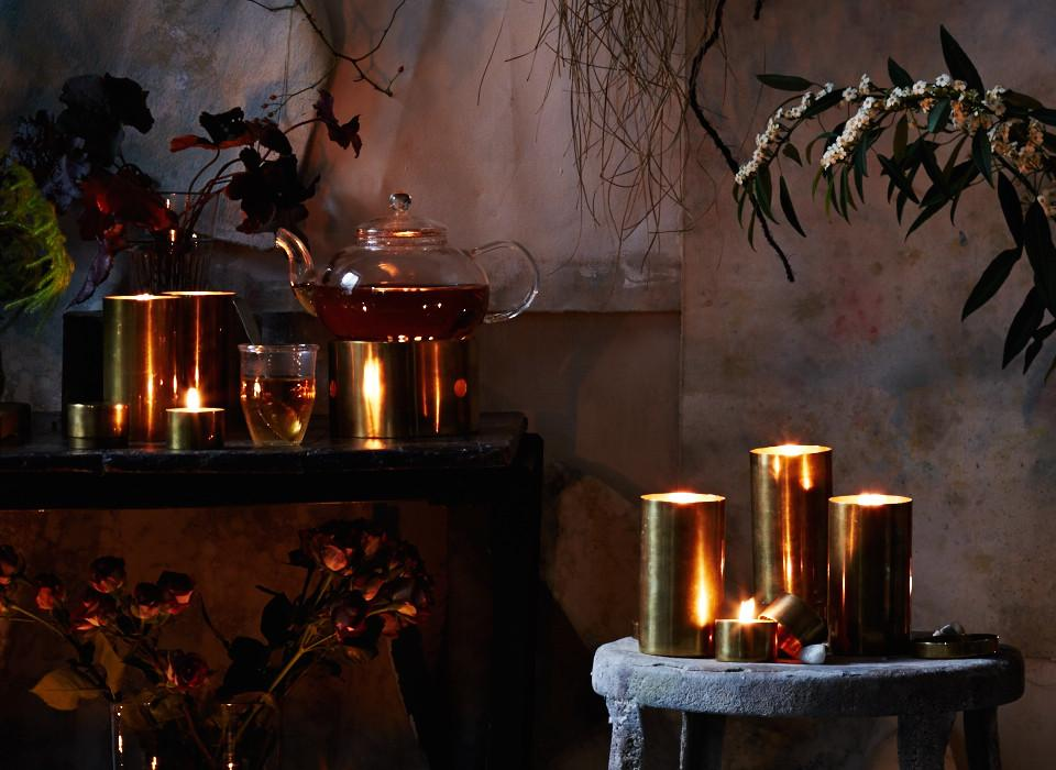 Bellocq Tea Atelier - Candles in Brass