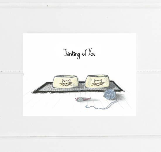 Fable & Sage Card - Cat Sympathy