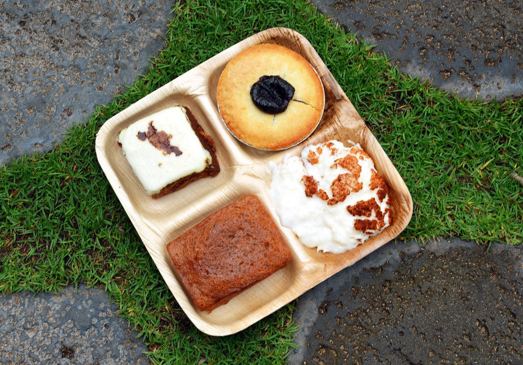 Verterra Compostable Compartment Plates