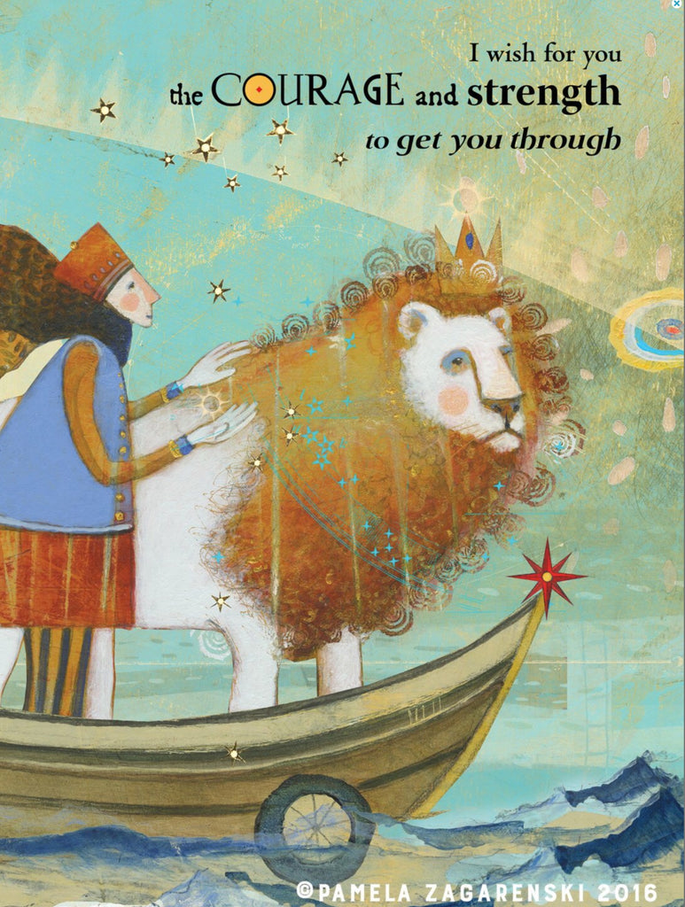Sacred Bee Card No. 436 Courage
