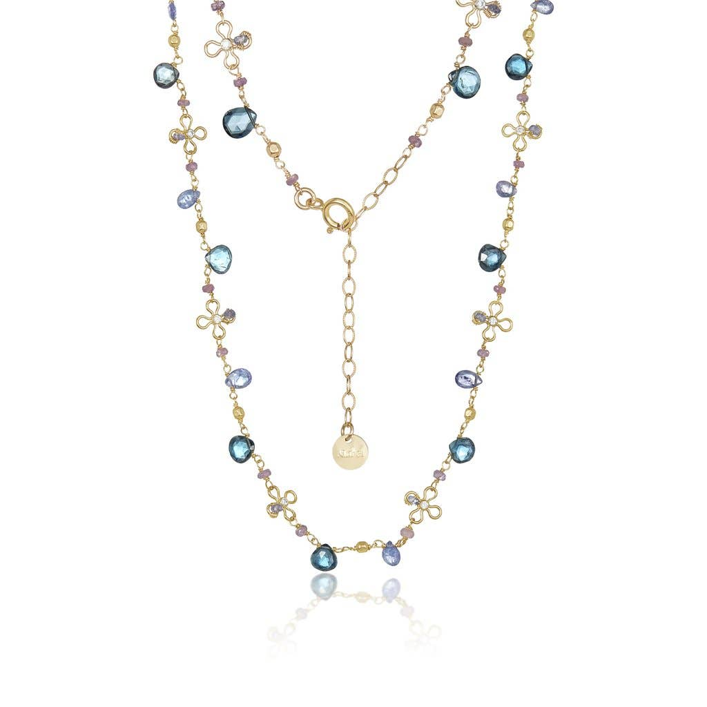 Mabel Chong - Floral Gem Necklace