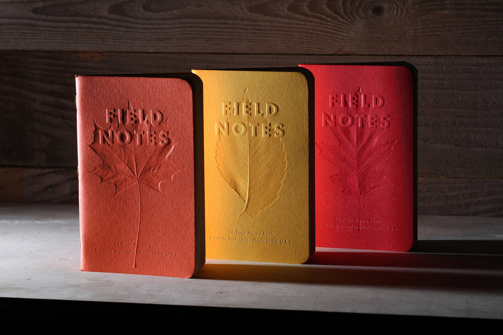 Field Notes - Autumn Trilogy - 3 Pack - Ruled
