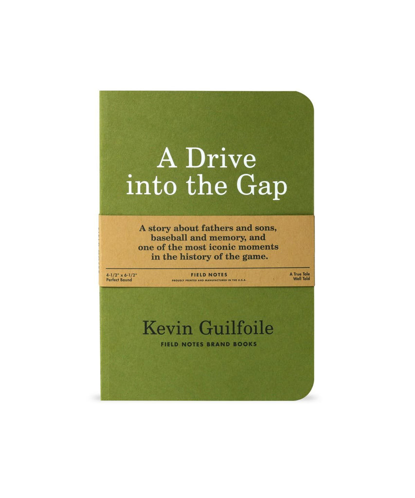 Field Notes - A Drive Into The Gap Book