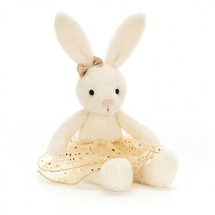 JellyCat Glistening Belle Bunny, small