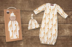 Milkbarn Gown and Hat Set