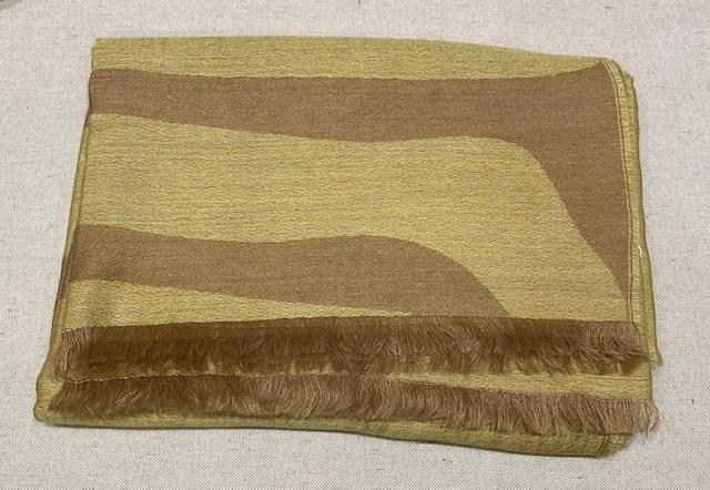 Alicia Adams Alpaca - Safari Wrap, Camel/French Yellow