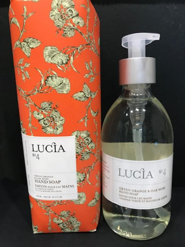 Lucia, Collection 4, Green Orange & Oak Moss