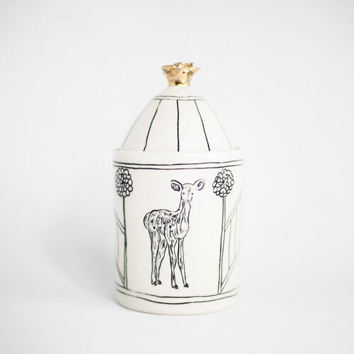 HOPE + MARY Woodland Animal Sugar Jar