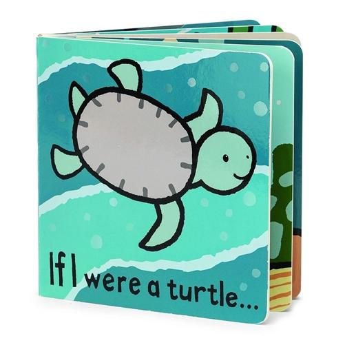 JellyCat - If I Were A Turtle Book
