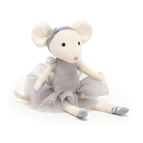 JellyCat - Pirouette Mouse Pebble