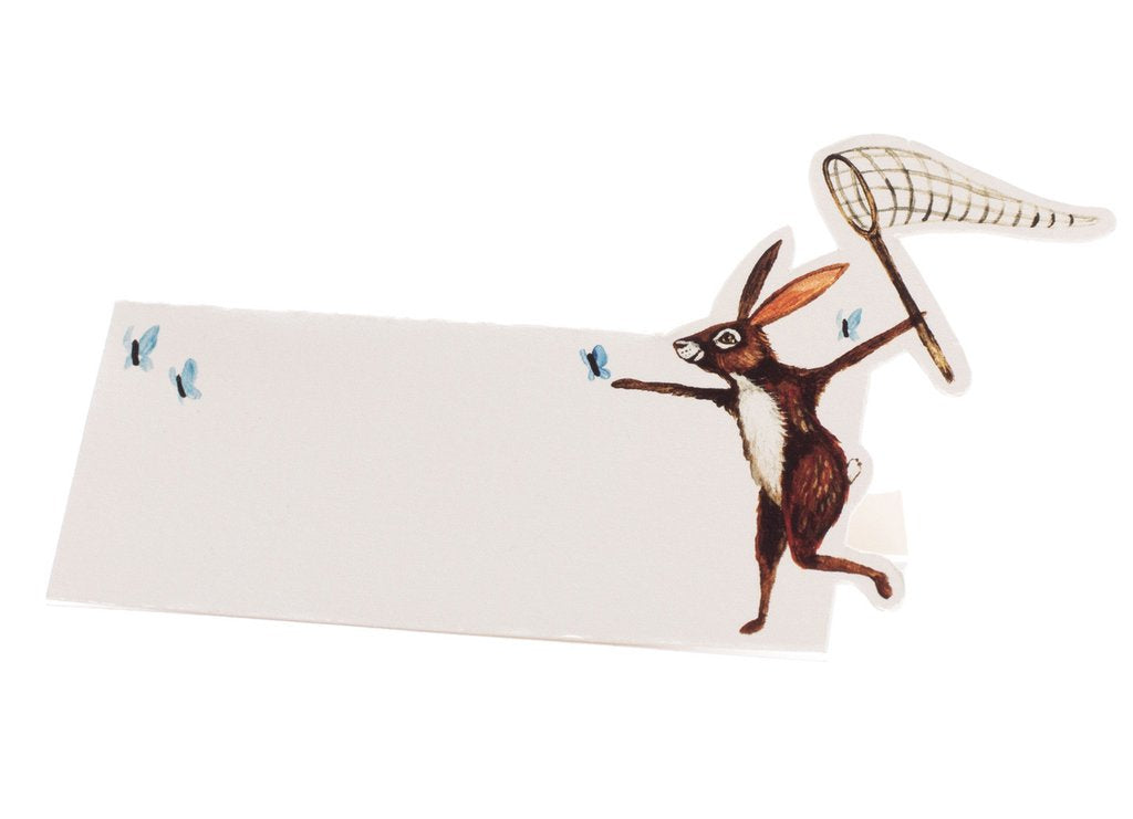 Hester & Cook Butterfly Hunt Place Card