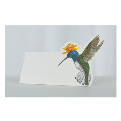 Hester & Cook Hummingbird Place Card