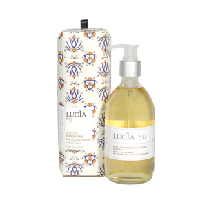 Lucia, Collection 11, Blue Lotus & Sicilian Orange