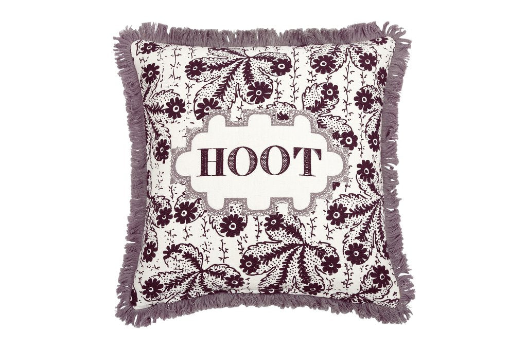 Thomas Paul - Hoot Linen Pillow