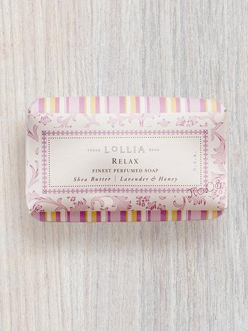 Lollia Relax Shea Butter Soap