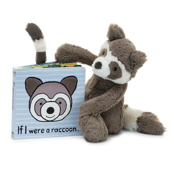 JellyCat - If I Were An Raccoon Book