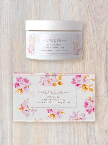 Lollia Breathe Whipped Body Butter