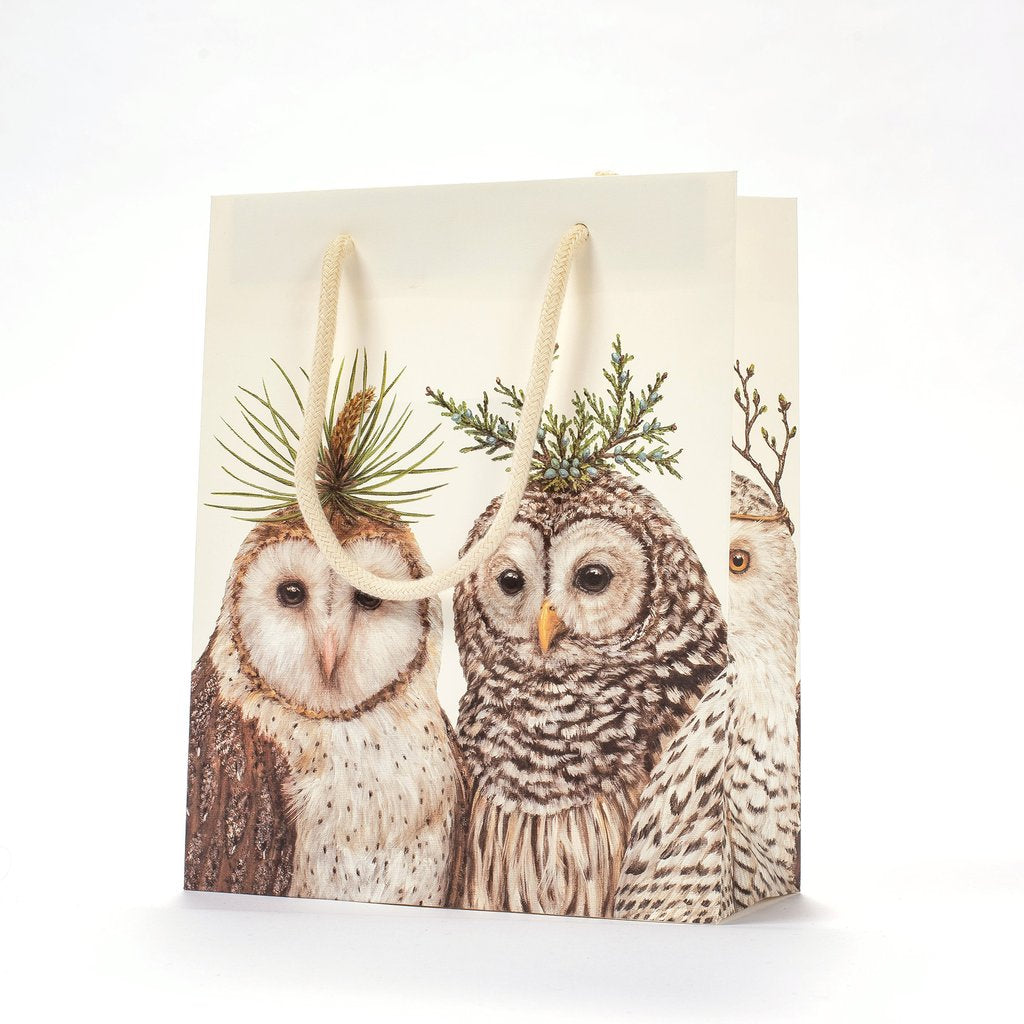 Hester & Cook Winter Owls Cub Gift Bag
