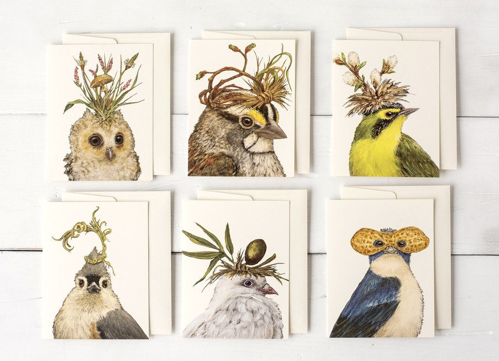 Hester & Cook Songbird Boxed Set Greeting Cards.
