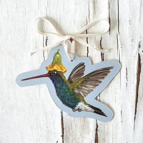 Hester & Cook Hummingbird Gift Tags.