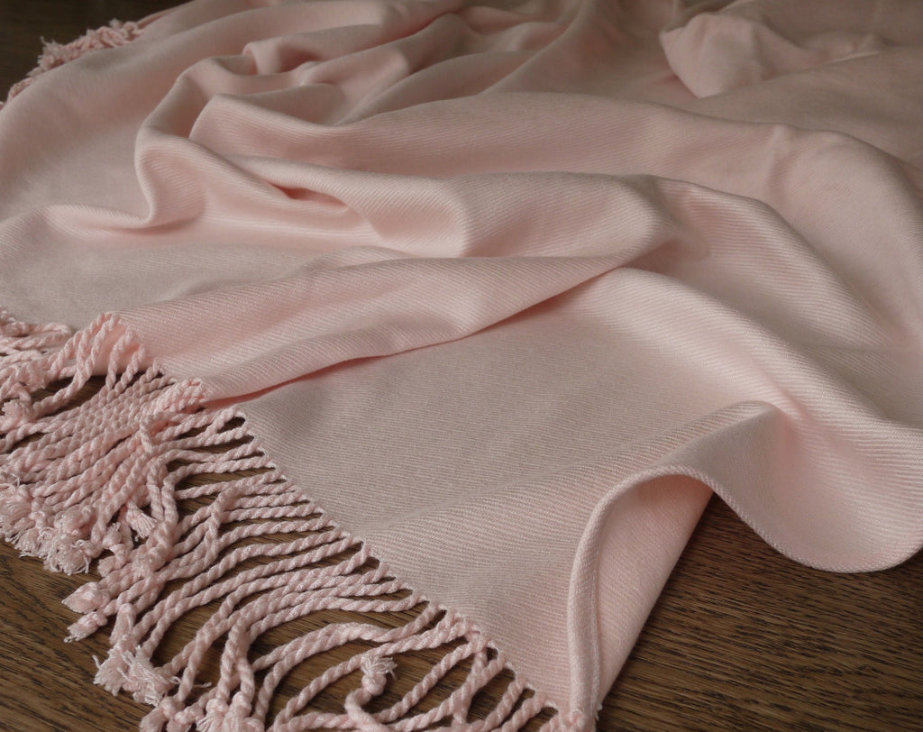 Raeshmi Silk Story - Rayon from Bamboo Fringed Throw